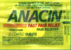 Anacin Two Pack