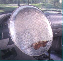 Windshield Spring Action Shade