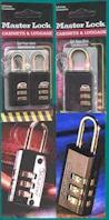 Master Combination Locks - Click On Image To Enlarge